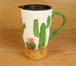 Cape Cod Cactus Travel Mug