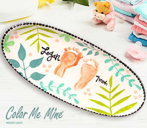 Cape Cod Tropical Baby Tray