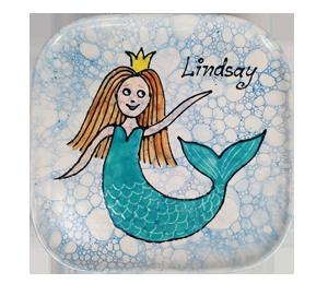 Cape Cod Mermaid Plate