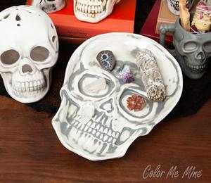 Cape Cod Vintage Skull Plate