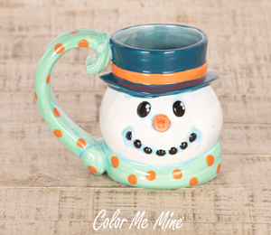Cape Cod Snowman Mug