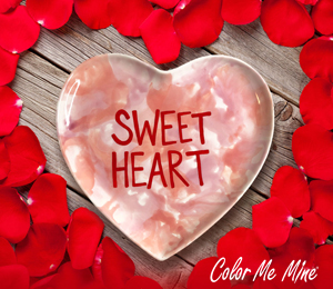 Cape Cod Candy Heart Plate