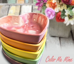 Cape Cod Candy Heart Bowls