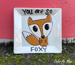 Cape Cod Fox Plate