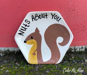 Cape Cod Squirrel Plate