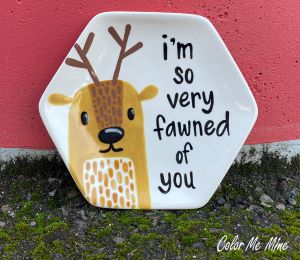 Cape Cod Fawn Plate