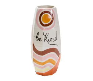 Cape Cod Be Kind Vase