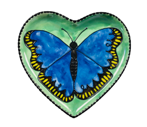 Cape Cod Butterfly Plate