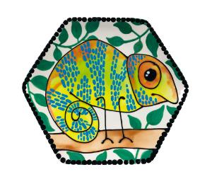 Cape Cod Chameleon Plate